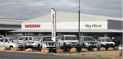 Big River Nissan Homepage 1